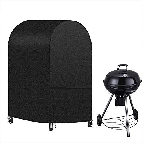 INMUA Copertura Barbecue Impermeabile Telo Copri Barbecue, Antivento Resistente allo Strappo 420D Oxford Protettivo Copertura per BBQ Grill (77 x 67 x 110 CM)
