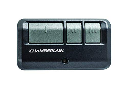 Chamberlain Group G953EV-P2 Chamberlain/LiftMaster/Craftsman 953EV-P2 3-Button, Security +2.0 Compatible, Includes Visor Clip Garage Door Opener Remote_x000D_