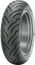 180/65B-16 (81H) Dunlop American Elite Rear Motorcycle Tire Black Wall for Harley-Davidson Street Glide Special FLHXS 2014-2017