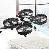 Mini Droni Drone UFO 2.4G 6 Axis Headless Remote Control Nano Rtf Mode 2 Quadcopter Helicopter Grey
