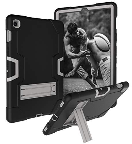 HHF Pad Accesorios para la lengüeta S5E SM-T720 SM-T725 10.5 Pulgadas Caja de la Tableta de Altas Prestaciones Silicona Cubierta Protectora a Prueba de Golpes Stand para niños