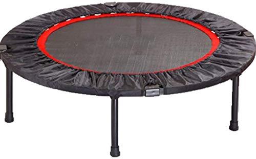 YUMUO Indoor-Fitness-Trampolin für Kinder, Indoor-Fitness-Trampolin, Federpolster, rundes Rebounder, Mini-Trampolin, Übungstrampolin für Kinder und Erwachsene (Größe : 101,6 cm)