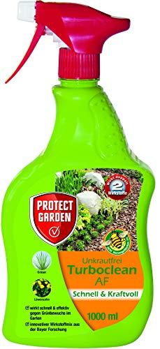 PROTECT GARDEN Turboclean Unkrautfrei AF (ehem. Bayer Garten), anwendungsfertiger Unkrautvernichter gegen alle Unkräuter, 1 Liter
