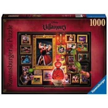 0267 ディズニー・ヴィランズ ハートの女王 不思議の国のアリス ジグソーパズル パズル 1000ピース Disney Villainous Queen of Hearts [並行輸入品]