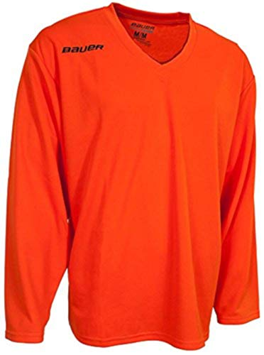 Bauer Eishockey-Trikot Flex Serie, Herren, Flex, Orange, Erwachsene  X-Large