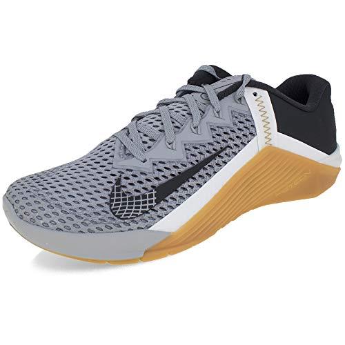 Nike Metcon 6, Zapatillas de fútbol Unisex Adulto, Lt Smoke Grey Dk Smoke Grey Summit White Gum Med Brown Mtlc Gold, 40 EU