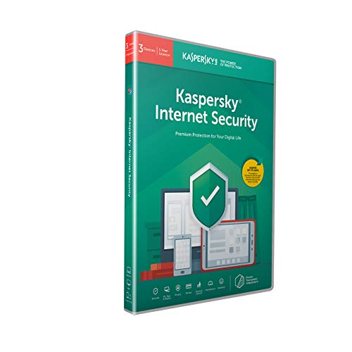 Kaspersky Internet Security 2018 - 3 Postes / 1 An code à l'intérieur d'un paquet