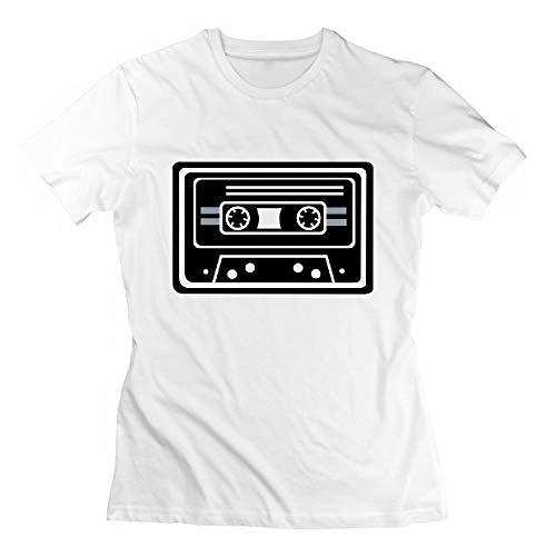 Cassette Music Electro Retro Oldschool Womens Tshirts