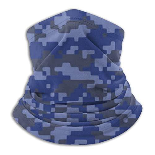 AJOR Pañuelo de piel de camuflaje militar con estilo para cubrir la cara, 25 x 30 cm
