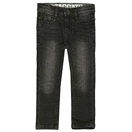 Staccato Jungen Skinny Jeans Regular Fit - MATS - Black Denim