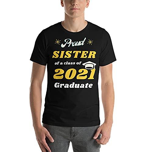 Graduation, Proud Sister, Class of 2021, 2021, Graduates, Nurse, Funny, College, Science, Teacher, Cute, Honor, School, Student, Doctor, Medical, Nerdy, Vintage, Book, tee Shirt Black