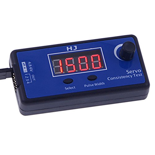 GoolRC HJ Digital Servo Tester / ESC Consistency Tester for RC Helicopter Airplane Car
