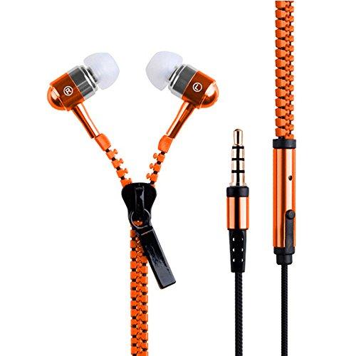 Cool New - Auriculares in-ear universales cierre cremallera