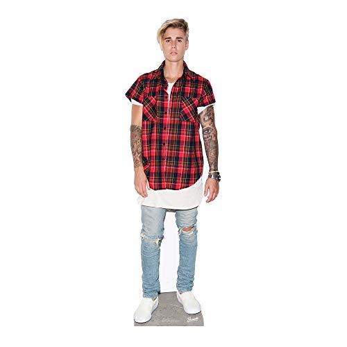 Star Cutouts Ltd, Justin Bieber, Pappfigur in Lebensgröße, mehrfarbig