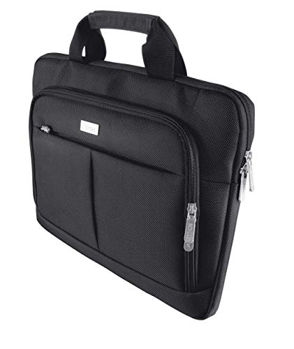 Trust Sydney Laptop Bag 14-Inch Deluxe Slim Business, Black