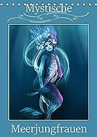 Mystische Meerjungfrauen (Tischkalender 2022 DIN A5 hoch): Meerjungfrauen in der Mythologie begeistern von Kindesbeinen an. (Monatskalender, 14 Seiten )
