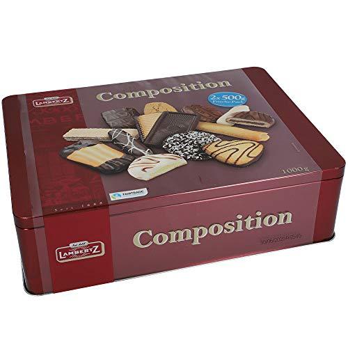 Lambertz Gebäckmischung Dose Composition, 1000 g