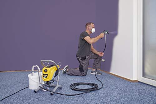 WAGNER Airless Farbsprühsystem Control Pro 250 M für Dispersions-/Latexfarben, Lacke & Lasuren im Innenbereich, 15 m²-2 min, Druckregulierung, 110 bar, Schlauch 9 m