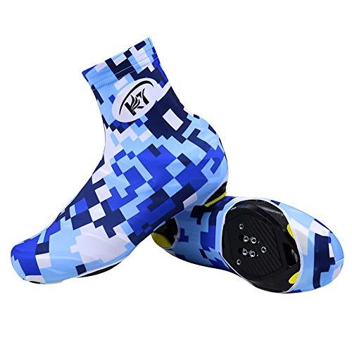 Huangjiahao Couvre-Chaussures de Cyclisme Chaussures de vélo Unisexe Coupe-Vent Thermique Couverture Respirante Bicyclette Couvre-Sports de Plein air Protecteur de vélo (Couleur : KDT1, Taille : XL)
