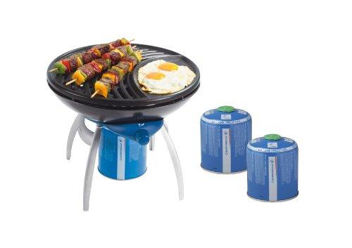 Party Grill + 2x Kartuschen CV 470 Plus *SPARSET*