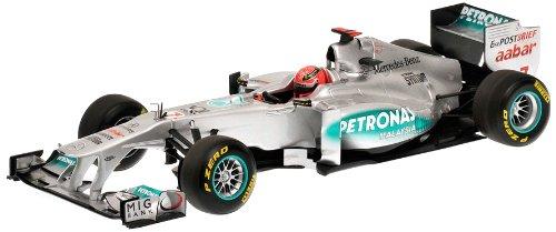Minichamps 110110007 - Mercedes GP Petronas F1 Team MGP W02 - Michael Schumacher, Maßstab: 1:18