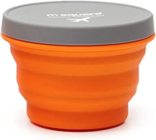 Multicolored-life Collapsible Bowl with Lid for Camping Hiking Travel Office Homes,Silicone Bowl with Lid BPA Free Food-Grade, Space-Saving,for Backpacking Handbag Duitcases