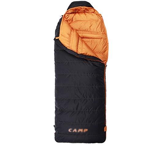 Durable et beau Sac de couchage Outdoor Voyage Camping doux vers le bas épais chaud épais Adulte Voyage intérieur imperméable et respirante Portable Simple Confortable et portable ( Color : B )