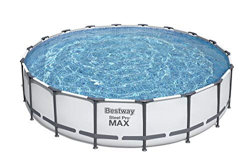 Bestway 56463 Steel Pro MAX Swimming Pool Set (18' x 48'), Blue