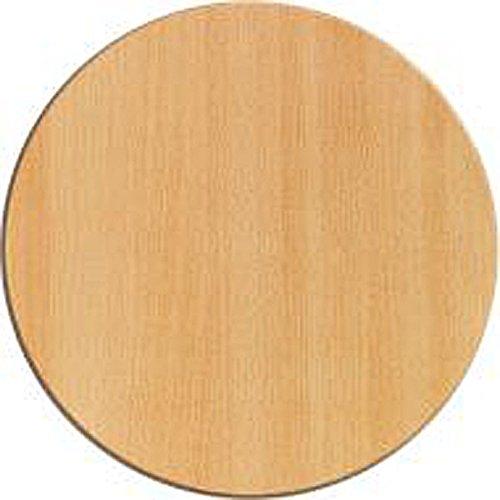 Werzalit Tischplatte Dekor Buche geplankt 80 cm rund wetterfest Ersatztischplatte Bistrotisch Stehtisch Tisch Gastronomie