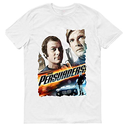 The Persuaders TV Series 1971-1972 Comedy Mens T-Shirt Whitel