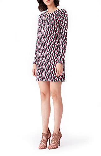 Diane von Furstenberg Reina Silk-Jersey Mini Dress Size M