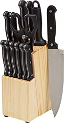 Amazon Basics 14-Piece Knife Set