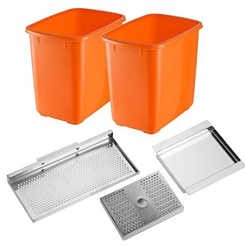 VEVOR Commercial Orange Juice Machine Stainless Steel Orange Juicer Squeezer Machine Citrus Juicer Electric Fruit Juicer…