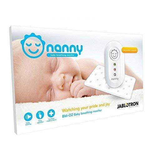 NANNY Monitor - Dispositivo de Monitorización Respiratoria para Bebés (+1 Sensor Adicional)