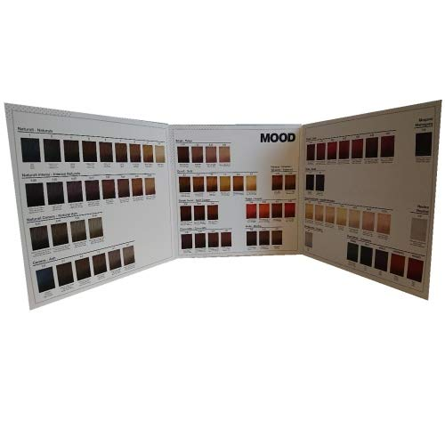 MOOD Color Cream Farbkarte mit 77 Meschen