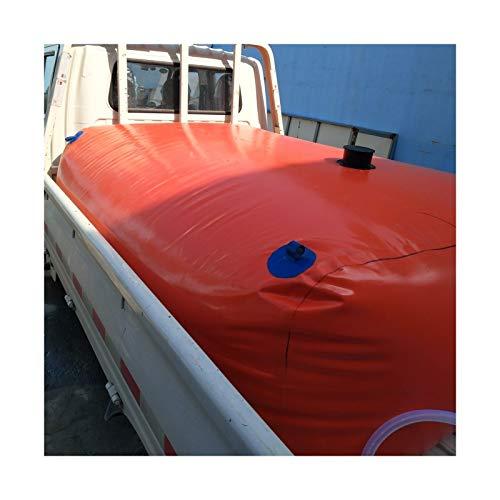 YJFENG Tanque De Agua Blanda Bolsa De Almacenamiento De Agua Al Aire Libre, PVC De 0,9 Mm con Grifo Portátil Respetuoso del Medio Ambiente para Riego De Jardines, Fiesta En La Playa, Viaje