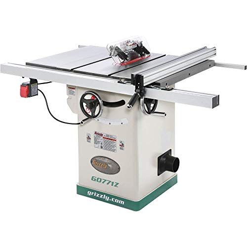 Grizzly Industrial G0771Z - 10' 2 HP 120V Hybrid Table Saw with T-Shaped Fence