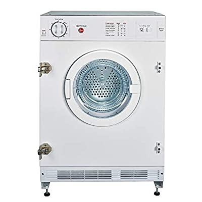 Hoover HBV7TDW 7kg Integrated Vented Tumble Dryer - White