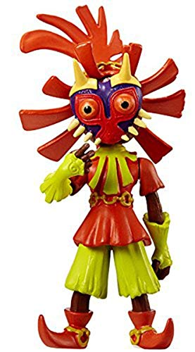 World of Nintendo, The Legend of Zelda, Skull Kid Action Figure, 2.5 Inches