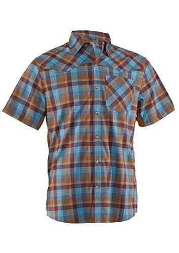 Club Ride Apparel New West Biking Shirt - Men's Short Sleeve Snap Down Cycling Jersey - Desert - XL
