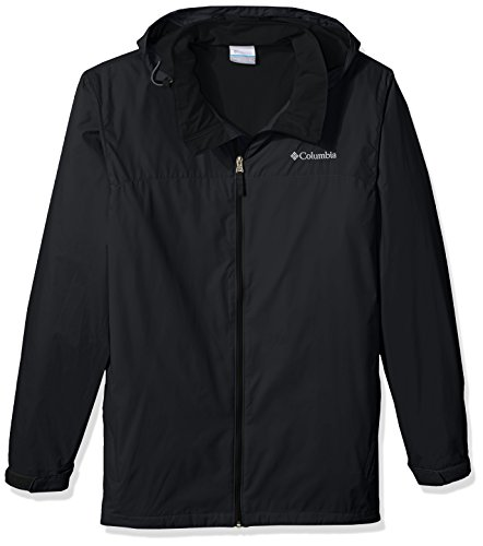Columbia Men's Glennaker Lake Lined Rain Jacket Outerwear, -black, L