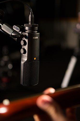 Rode NT-USB USB Condenser Microphone, Black