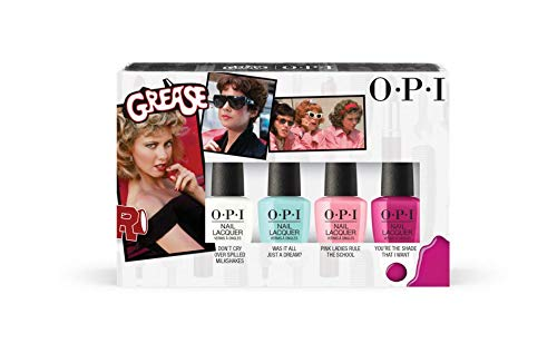 OPI Nail Lacquer Grease Collection Limited Edition Mini Four P