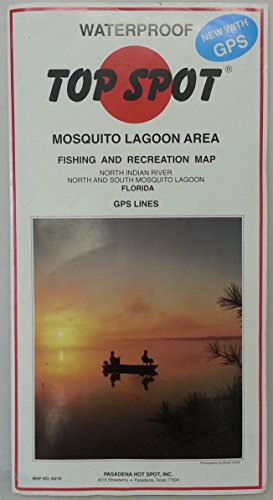 Top Spot N219 Map- Mosquito LagoonN Indian River N&S Mosquito Lagoon