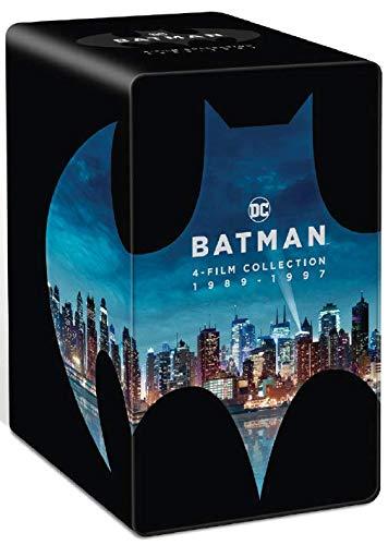 Batman-4 Films Collection 1989-1997 [4K Ultra HD + Blu-Ray]