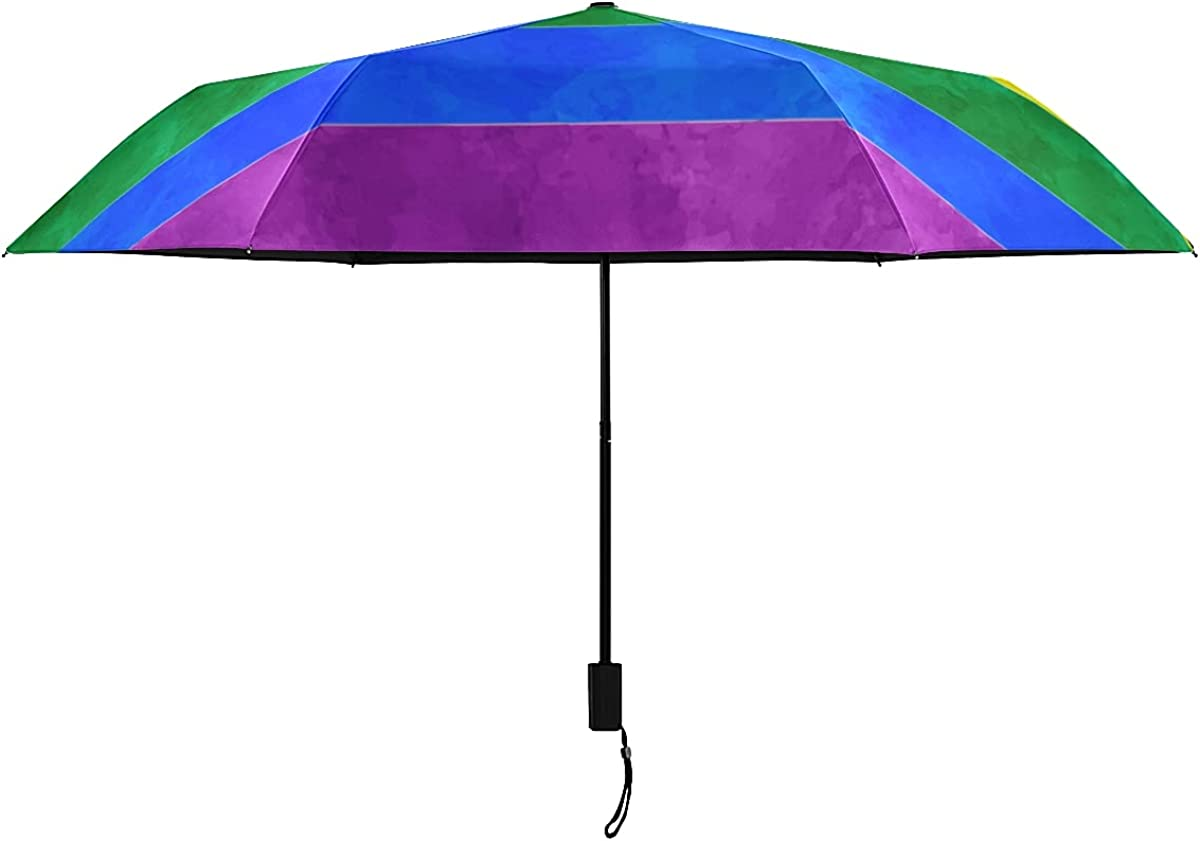 Womens Umbrella Multicolored Flags In Super Special SALE held Of Inverted Ranking TOP1 Rainbow Colors