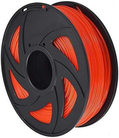 2021 3D outlet online sale Printer Filament - 1KG(2.2lb) 1.75mm / 3 mm, new arrival Dimensional Accuracy PLA Multiple Color (Transparent red,3mm) online