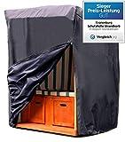 Kronenburg Schutzhülle Strandkorb aus 420 D Oxford Gewebe - Abdeckung für Gartenmöbel - weitere Schutzhüllen wählbar