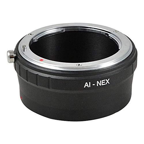 MENGS® AI (g) Lente de NEX Mount Anillo Adaptador para Nikon AI...