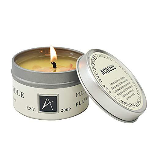 Xiand Natürliches Sojawachs Duftkerze Geschenkset, 1 Pack Aroma Kerzen Weihnachten, Aromatherapie Kerze Candle für Weihnachten, Bad Geburtstag Yoga Jahrestag Damen Geschenke (F)